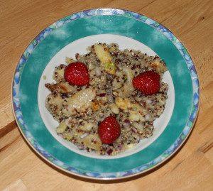 Quinoa-Spargel-Salat